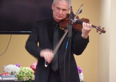 High Tea Violinist